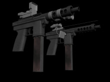 Tec 9 : Texturing Started.