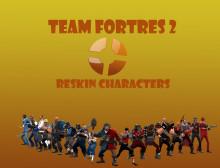 TF2 Characters Reskin