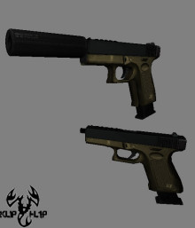 Tan glock 2 versions
