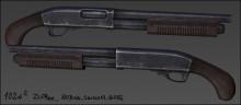Sawed-off Remington 870 Textures