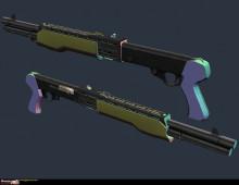 Spas Shotgun, update