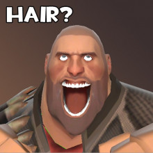 Heavy's lost hair