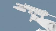 Black Mesa MP5