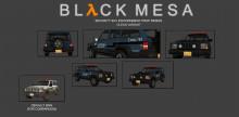 Black Mesa Security SUV Reskin