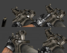 BrainCollector´s BF3 M16 for CSS