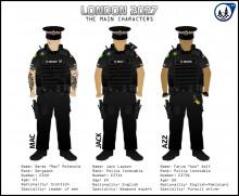 Main Characters of London 2027