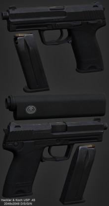 H&K USP .45 Tactical