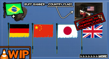 Buff Banner - Countries