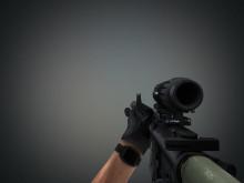M16 jam and unjam anim