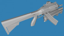 Futuric rifle + GM94
