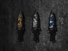 Tactical Knife Digital Camo