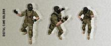Digital Camo Soldier
