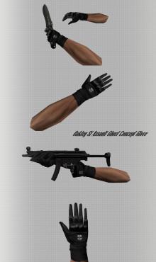 Oakley SI Assault Ghost Concept Glove