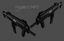 MP7 Textures