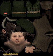 Canadian Soldier Circa 1970