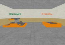 Moblie Deployable turret
