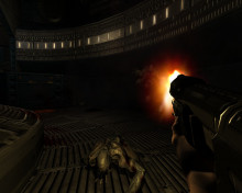 Very improved a.i for doom 3