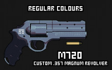 M720 Custom .357 Magnum Revolver