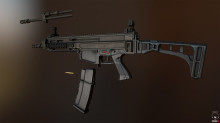 CZ-805 Bren Texturing