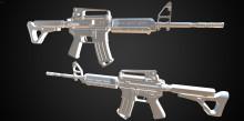 Custom M4a1 [HighPoly]