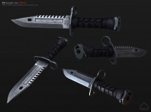 M9 bayonet for Arma3
