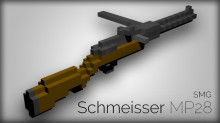 [OpenSpades/AoS/AoS Steam] Schmeisser MP28 SMG