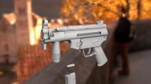 MP5K lowpoly