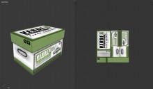 paper box props