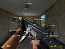 MP5 weapon for Garry's Mod