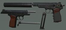"APS ""Stechkin automatic pistol"""