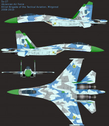Ukrainian Su-27S
