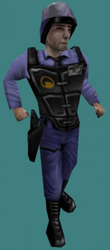 Retail Security Guard on Alpha Animations.