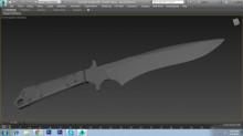 1.6 badlands bowie Knife