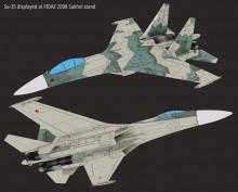 Su-35 at FIDAE 2008