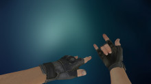 Fingerless CSGO Gloves