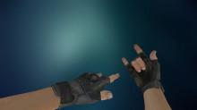 Fingerless CSGO Gloves