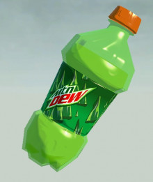 Mountain Dew Projectiles  Replacement