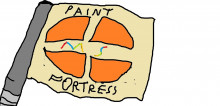 MS paint Fortress 2