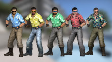 CS:GO - Summer Leet Team ModelHax