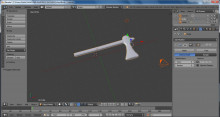 Throwing Axe Model