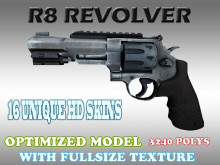 CS:GO R8 Revolver HD skins for cs 1.6