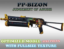 CS:GO PP-19 Bizon HD skins for cs 1.6