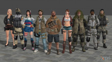 All of SF2 Player model