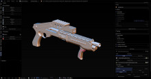 custom shotgun (spas 12 alike)