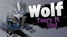Wolf in Sm4sh!