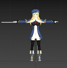 Noel Vermillion model import - NEED HELP (crashes)