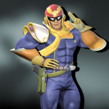 New Captain Falcon Character UI