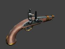 Flintlock pistol