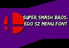 Edo SZ Menu Fonts
