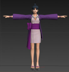 Maya Fey (Zelda) First import, help appreciated!